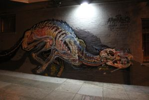 Anatomy Graffiti by FistFightJunkie