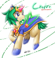 Cyber-Elf Croire : Pony form by vavacung