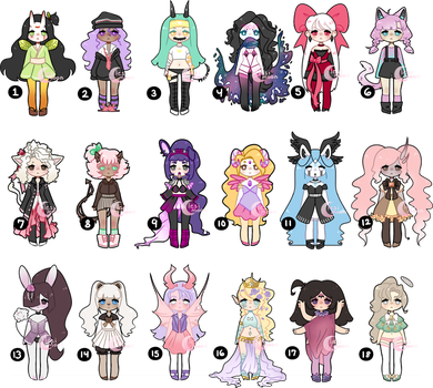 Adopts | 2/18 OPEN by lesimoon