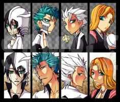 bleach - keychain 09-2 by pandabaka