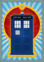 The Magnificent TARDIS by ever-so-excited