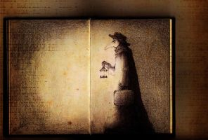 Book about Plague Doctor by MizuSasori