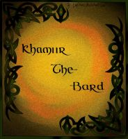 Calligraphy 'Khamiir the Bard' by lapiNaru