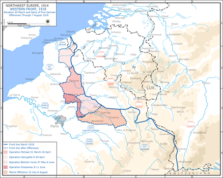 Western front 1918, Spring Offensive by Jake456