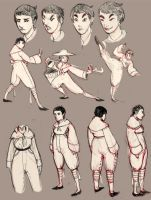 More Character Concept Sheets by stupah