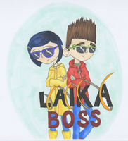 LAIKA Boss - Norman and Coraline are awesome by EvanelleOnyx