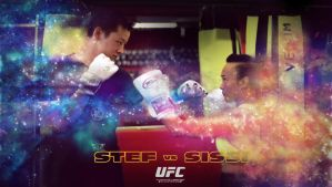 UFC 2015 - Stef vs Sissi by teuung