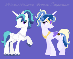 MLP: FiM OC- Princesses Patience and Temperance by VoltaliatheMajestic
