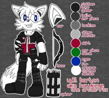 .:Will Barton Reference Sheet:. by Angel-Hearted-Being