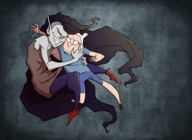 Oh Marceline, why are you so mean? by JuliaMadrigal