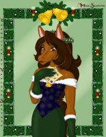 Christmas Constance by elleboe