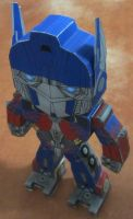 CHIBI Optimus Prime by aim11
