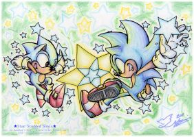 Star Studded Sonics by Feniiku