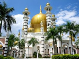 Ubudiah Mosque by 74Duriel