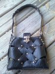 Recycled innertube purse 3 by Lioness123