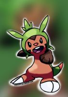Chespin by xiaolee92