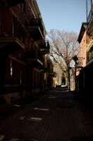 Montreal alleyway by NiallORourke