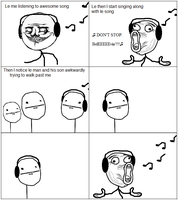 Another Rage Comic by lazlotheraccoon