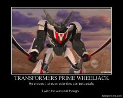 TF: Prime Wheeljack poster by just-being-me131