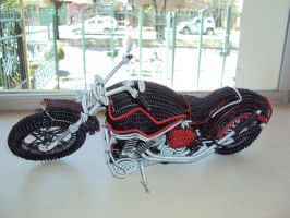 custom chopper 1 by destart