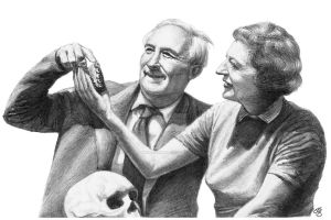 Louis Mary Leakey by subhankar-biswas