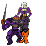 Knight 3000's Pumpkin Queen by Kmon13