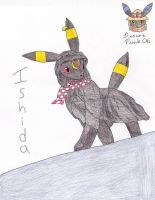 Ishida in Umbreon Form? by Sir-Genesis