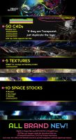 50 HQ C4Ds and Space Stocks by fmacmanus