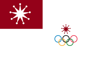 Chinese Kunming Sports Flags by otakumilitia