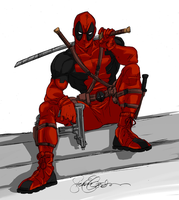Deadpool by SEG_Colored by Anko-sensei