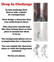 Drop In Challenge Example by LuigiL