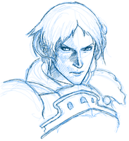 DailyDoodle FF12 Drace mspaint by justira