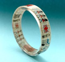 London town bangle by BazaarHereToday