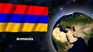 Flag Wallpaper - Armenia by darellnonis
