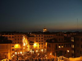 Rome in the evening by mirator