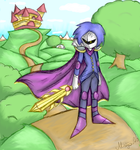 Metaknight done by MirandaMaija