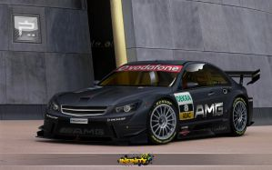 Mercedes-Benz C63 AMG by kairusevon