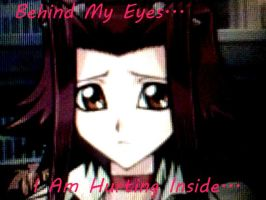 TF4 Akiza Izinski Wallpaper: Hurting Inside... by TheBlackRoseWitch