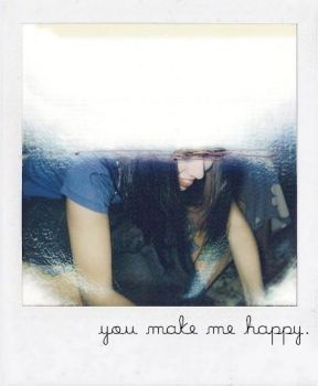 you make me happy. by thesubliminalbeauty