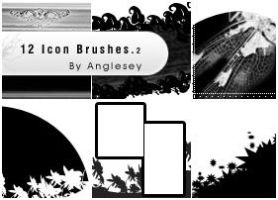 Icon Brushes 2 by anglesey