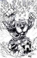 Hulk Smash Inks by DontBornInInk