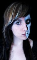Skull Make-Up by XxGloomyPrincessxX