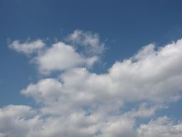 Stock - Clouds in the Sky 004 by ladykraut