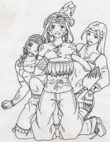 Jungle Girls by fanchielover15