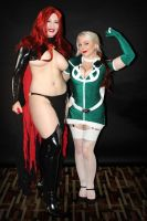 Goblin Queen and Rogue by greyloch-md