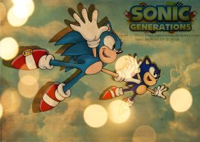 Sonic Generations by selinmarsou