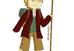 Bilbo Baggins Pixel by Snow-Berries