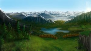 Blue-Mountain-Valley by Joujeen