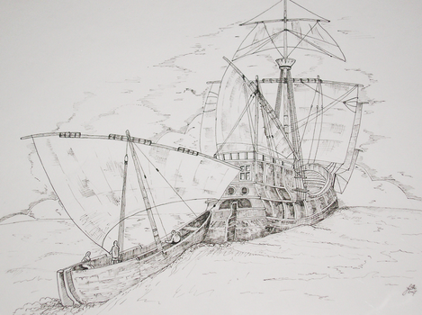 Pirate Ship by marcelljusztin