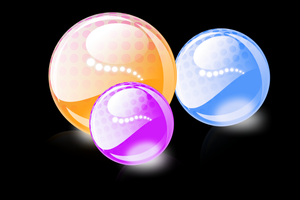 Spotted Orbs by HelenLight